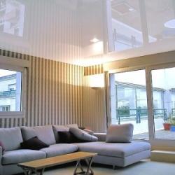 Секрет популярности матовых натяжных потолков